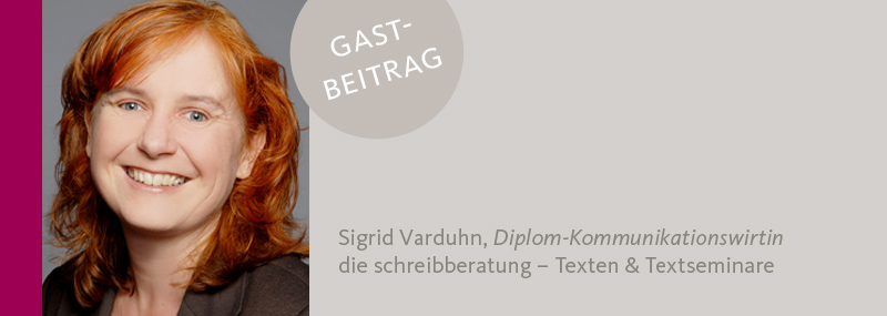 Sigrid Varduhn zu Corporate Language