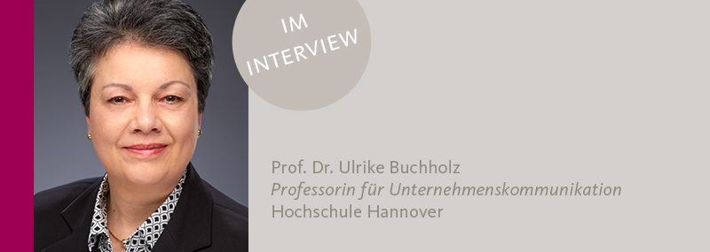 Ulrike Buchholz - Interne Kommunikation