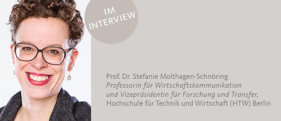 Prof. Dr. Molthagen-Schnöring im IK-Blog über Vertrauen in der internen Kommunikation
